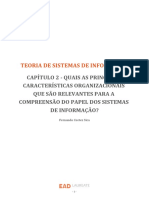 Teoria de Sistemas de Informação - Cap2