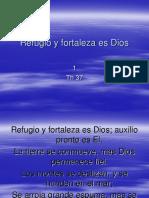 1 Refugio y Fortaleza Es Dios - Th 37 himnos
