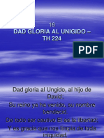 16 Dad Gloria Al Unigido Th 224 himnos