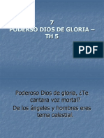 6 Poderoso Dios de La Gloria TH 5 himnos
