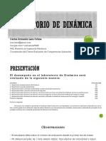 Presentación Lab Dinámica