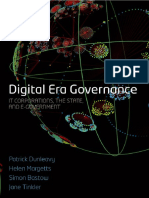 Patrick Dunleavy, Helen Margetts, Simon Bastow, Jane Tinkler - Digital era governance_ IT corporations, the state, and e-government (2007, Oxford University Press).pdf