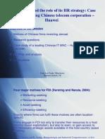 Case of Huwaii Technologies