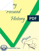 Internal Focused History - Medical Club