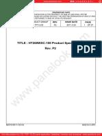 Ht260wxc-100-Boe Quadro Moj Led Pin