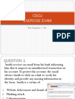 Exam Data Security