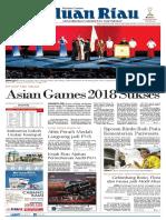 Epaper Haluan Riau Senin, 03 September 2018