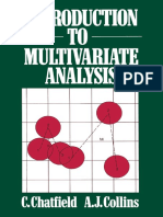 Christopher Chatfield, Alexander J. Collins (auth.)-Introduction to Multivariate Analysis-Springer US (1980).pdf