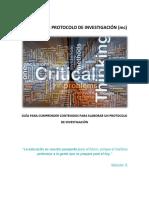 Partes Del Protocolo de Investigación