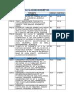Catalogo de Conceptos Definitivo Mejorado Final