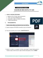 4. COMUNICACIÒN DE HMI CON PLC S7-1200