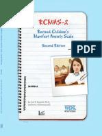 Rcmas-2 Manual Chapter 1