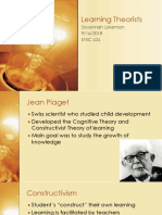 Learning Theorists
