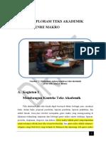 Bhs Indo Bab 1 Mengekplorasi Teks Akademik Final Edit