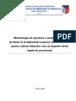 !!Metodologia de Prelungire a Activitatii Dupa 65 de Ani Oct 2014