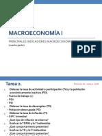 Presentación Principales Variables Macroeconómicas (Cuarta Parte)