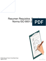 Requisitos ISO 9001 20015 Ago 15