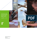 TRO Annual Report 2009-10 Download