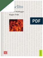 Heráclito. Seminario Del Semestre de Invierno 1966-1967 - Martin Heidegger & Eugen Fink(FCE)