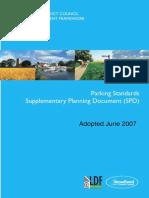 Parking Standards Supplementary Planning Documents SPD