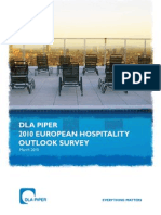 DLA Piper 2010 European Hospitality Outlook Survey