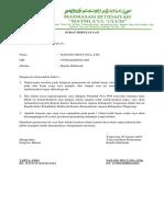 A.2 Surat Pernyataan Kepala