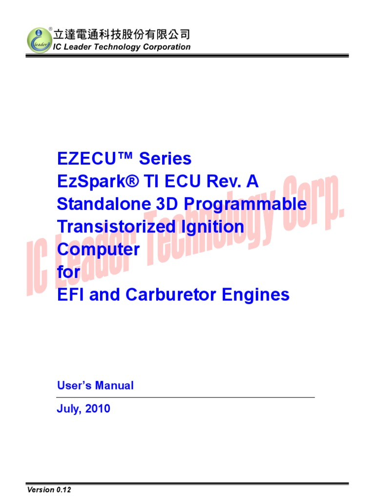 R Ti Ecu Reva Users Eng Ignition System Throttle Tps On 60 Series Engine Schematics