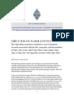 Evrim Binbas----Oghuz Khan Narratives