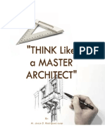 Think Like a Master Architect