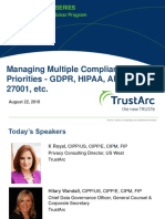 Managing Multiple Compliance Priorities Seris   TrustArc