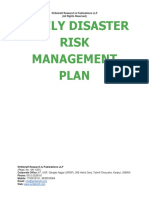 Family Disaster Risk Management Plan [www.writekraft.com]