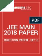 JEE Main 2018 Paper 2 Question Paper - Set S.pdf