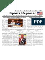 September 5 - 11, 2018  Sports Reporter
