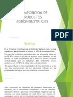 Composición de Productos Agroindustriales