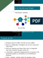 Migration de données sous Drupal