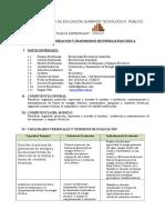 Silabus de Generacion y Transmision de Energia Electrica - 2014