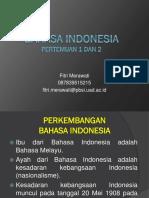 Bahasa Indonesia p1
