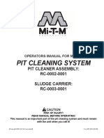 Pit Cleaner and Sludge Cart