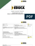 Buenas Prácticas Pedagógicas Observadas en el Aula de Segundo Ciclo Básico en Chile