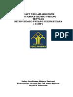 Naskah Akademik RKUHP Dengan Lampiran (2015)