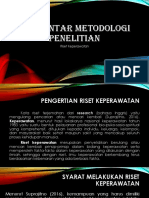 Pengantar Metodologi Penelitian PPT