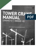 Tower crane manual