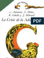 La Crisis de La Adolescencia [O. Mannoni, A. Deluz, B. Gibello & J. Hébrard]