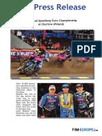 PR n 252 2018 Individual Speedway Euro Championship at Chorzow Poland