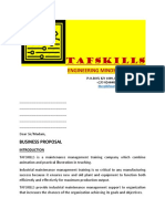 Tafskills Maintenance Management Solution
