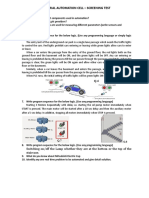 Industrial Automation Cell Test