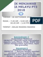 TEKNIK MENJAWAB  BAHASA MELAYU PT3 2018.pptx