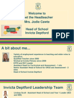 Meet the Headteacher - SE8.pptx