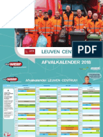 Afvalkalender Leuven Centrum