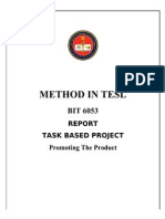 Report Task Based Project and Classroom Discourse